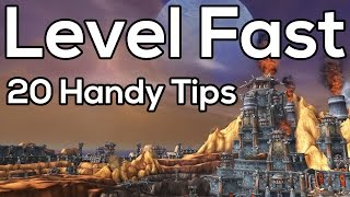 20 Ways To Level Faster in World of Warcraft