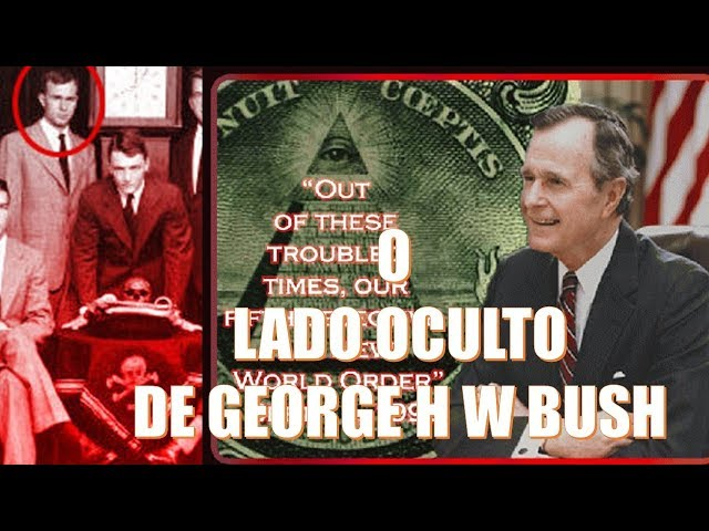 O LADO OCULTO DA VIDA E MORTE DE GEORGE H W BUSH PAI!