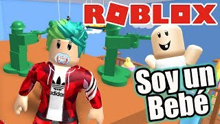 I'm a Baby ? Escape from the Nursery Roblox Karim Games Play
