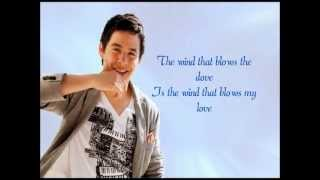 David Archuleta - Wherever You Are w/ Lyrics on screen