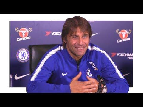 Antonio Conte Full Pre-Match Press Conference - Chelsea v Everton - Premier League