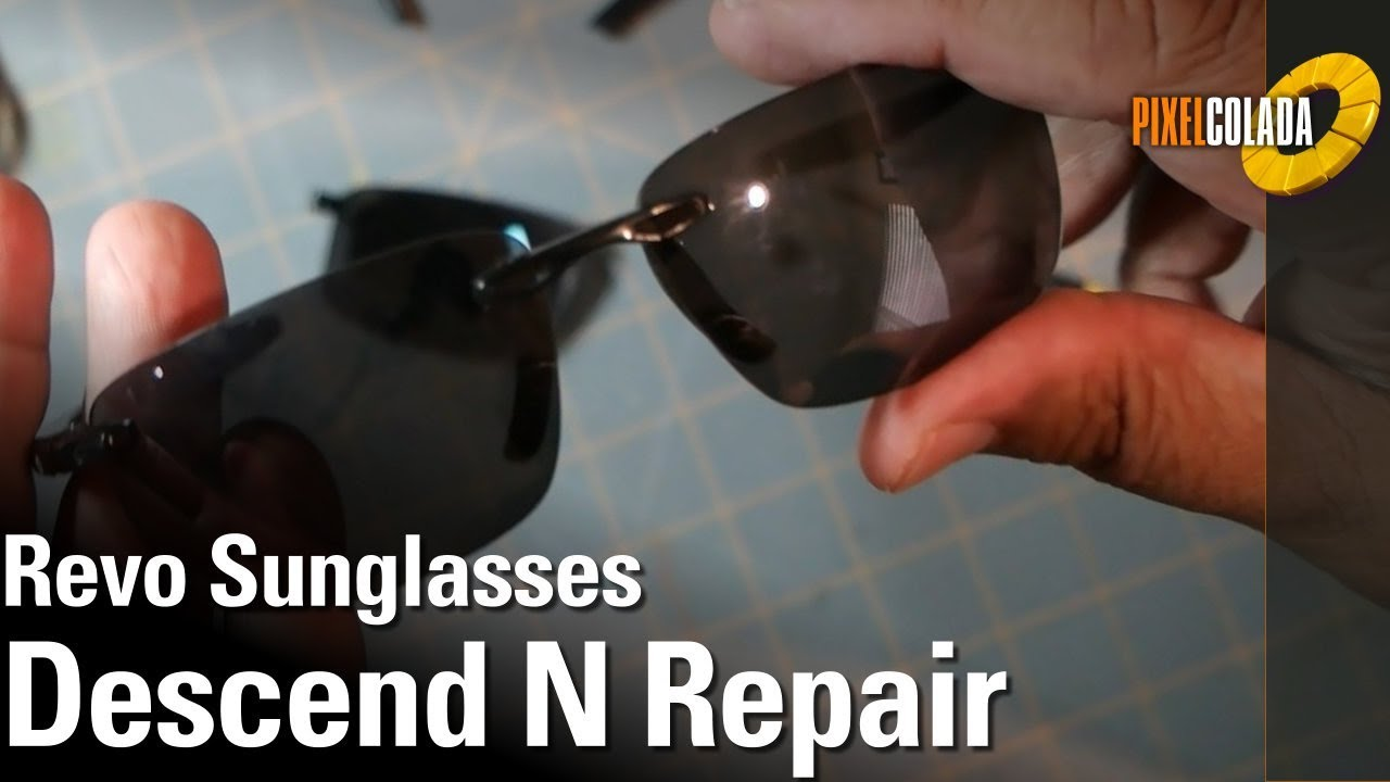 b593777256a Revo Sunglasses Repair - YouTube