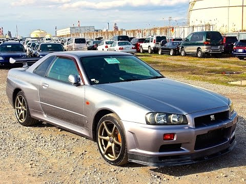 1999 R34 Skyline GT-R V-spec Japan Auction Purchase Review