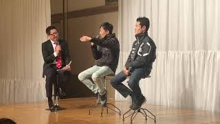 Suzuka Talk Show 2019 鈴鹿トークショー 山本尚貴 vs. 野尻智紀(ファン感謝デー:モースポフェス2019 パーティーより) - Naoki Yamamoto