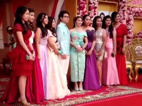 Asian Event Party, Cambodian Wedding party reception, Asian tradition
