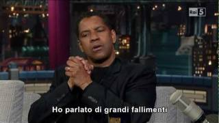 Denzel Washington al David Letterman Show