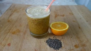 Orange Smoothie With Chia Seeds