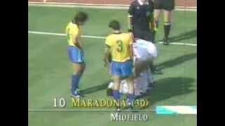 Brazil vs Argentina (1990 WC)