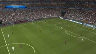 PES 2014: Real Madrid - Barcelona (Gameplay Versión Final)