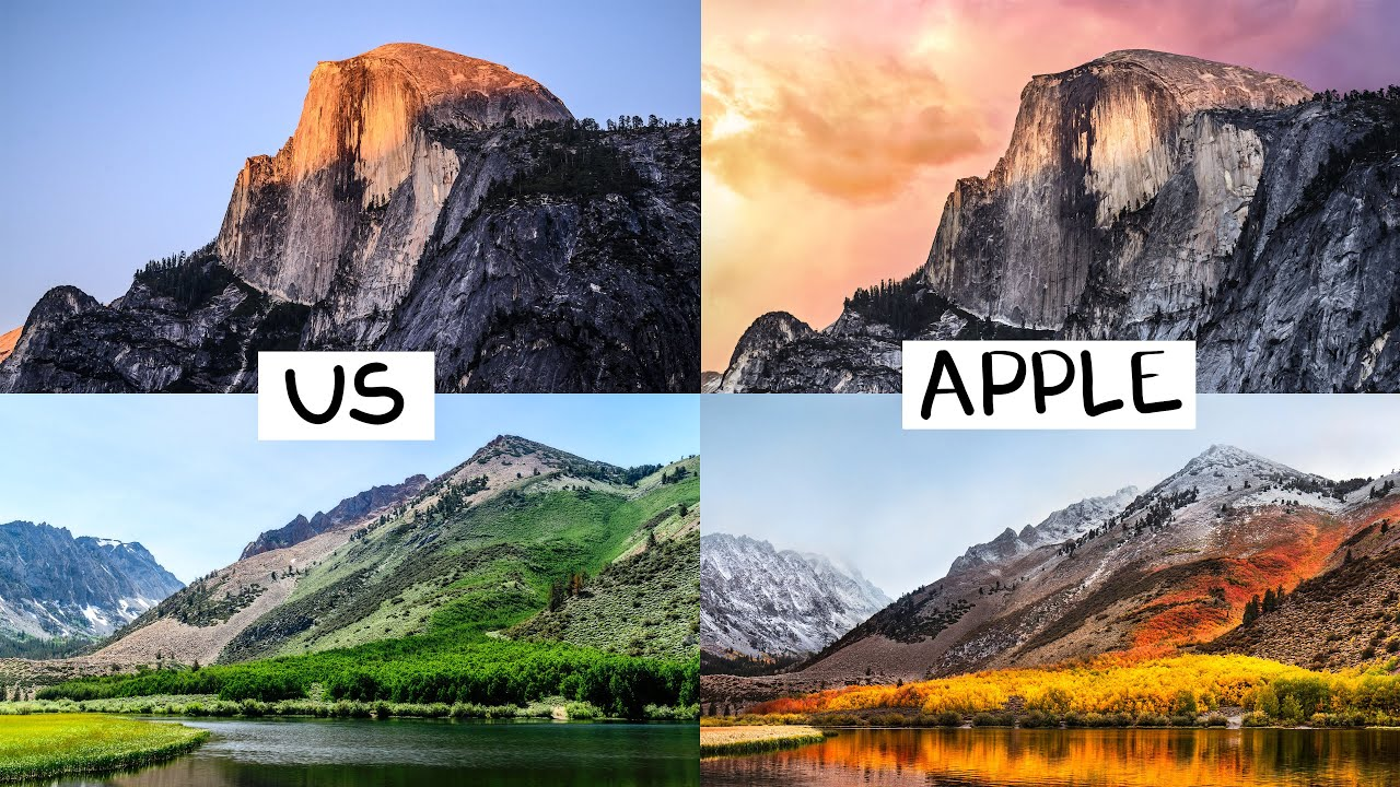 We Recreated Every Apple Wallpaper