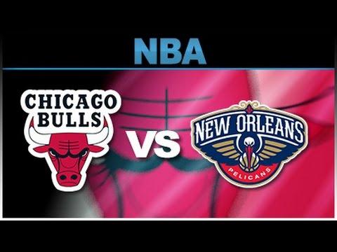 New Orleans Pelicans vs Chicago Bulls - Full game | Jan 14, 2017 | 2016-17 | NBA 2K17