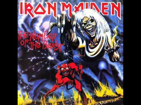 Iron Maiden-The Number of The Beast(lyrics)
