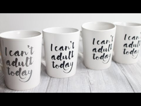 Which is better for mugs?  Vinyl or iron-on?