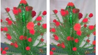 Make new design guldasta from waste plastic bottles