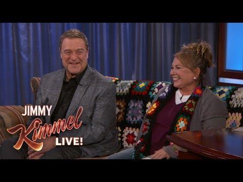 Roseanne Barr & John Goodman Address Writers' Room Rumors