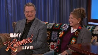 Roseanne Barr & John Goodman Address Writers' Room Rumors