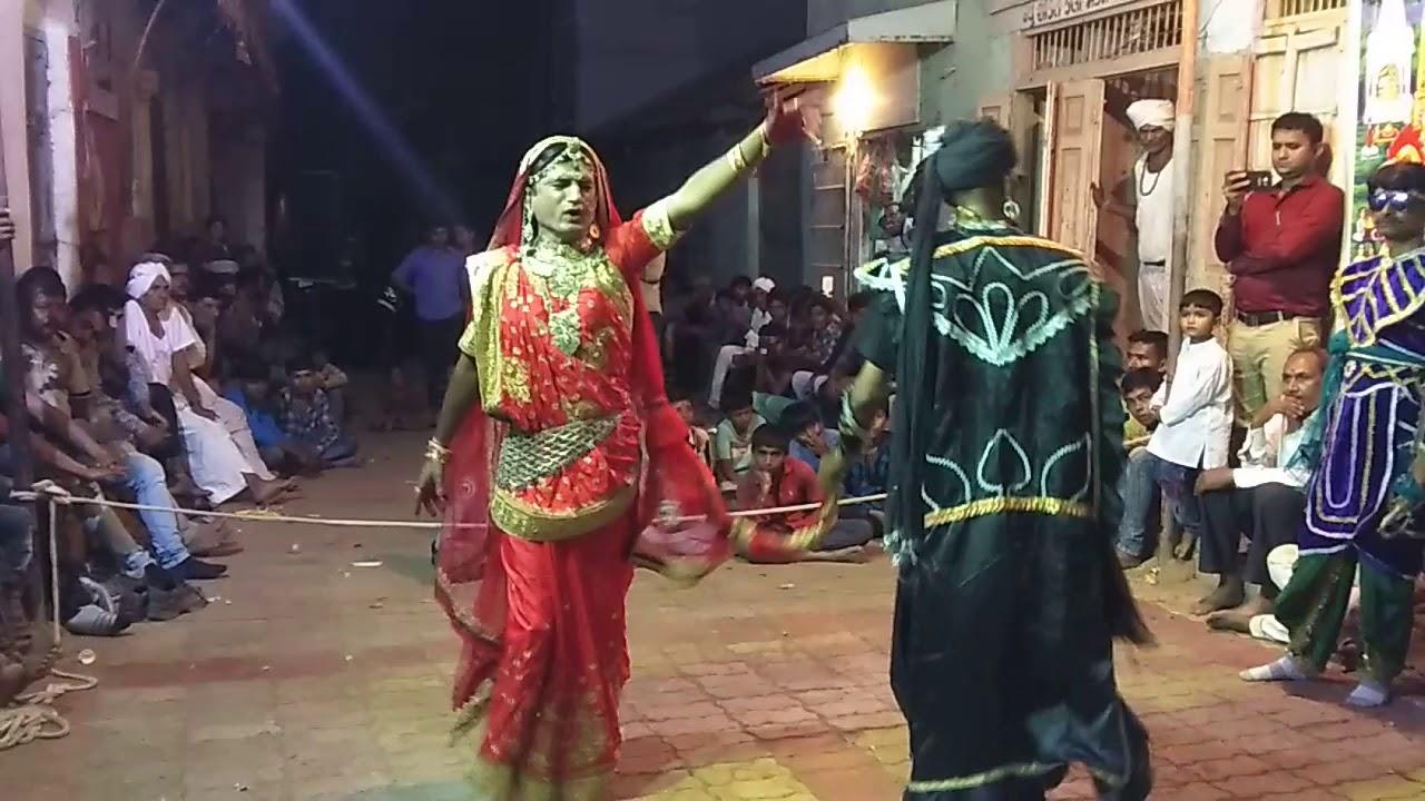 Mahakali Maataji  ni bhawai. New Shakti Kala Mandal Bhadraval - 1, Ta - Talaja, Dist. - Bhavngar