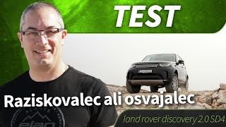 2017 land rover discovery 2.0 SD4 AT 4WD HSE - test