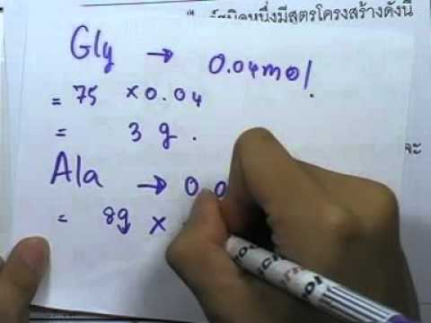 ormChemCl 079 : สารชีวโมเลกุล ตอน05