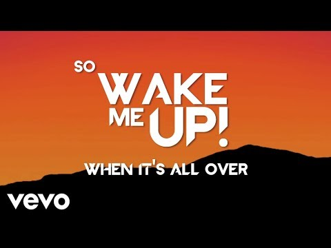 Avicii  Wake Me Up Lyric