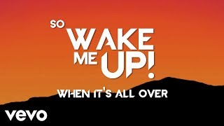 avicii   wake me up lyric video