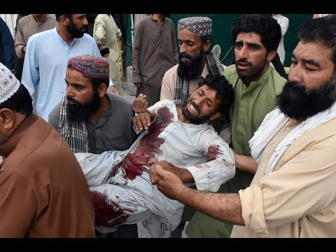 News Wrap: ISIS claims responsibility for deadly Pakistan election rally bombings