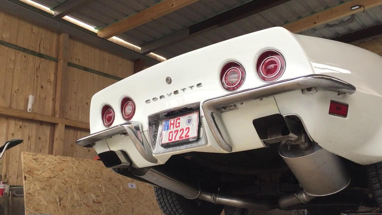 corvette c3 2 5zoll allen s exhaust