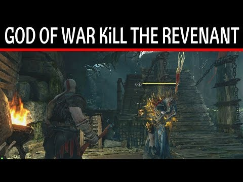 God Of War How To Kill The Revenant Escape The Ruins Fast & Easy Way Gameplay Walkthrough Game Guide