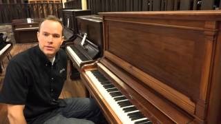 1911 Henry F. Miller Refurbished and Refinished Upright Piano