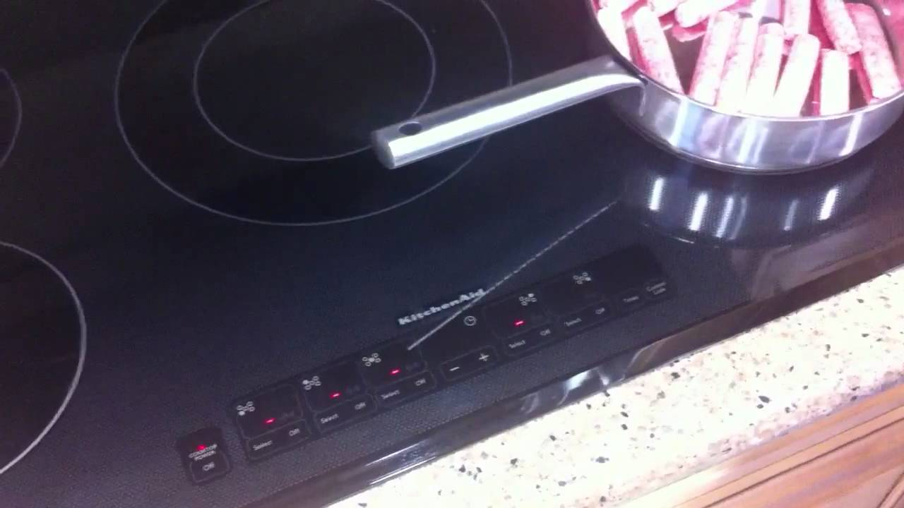 KitchenAid Induction Cooktop   YouTube