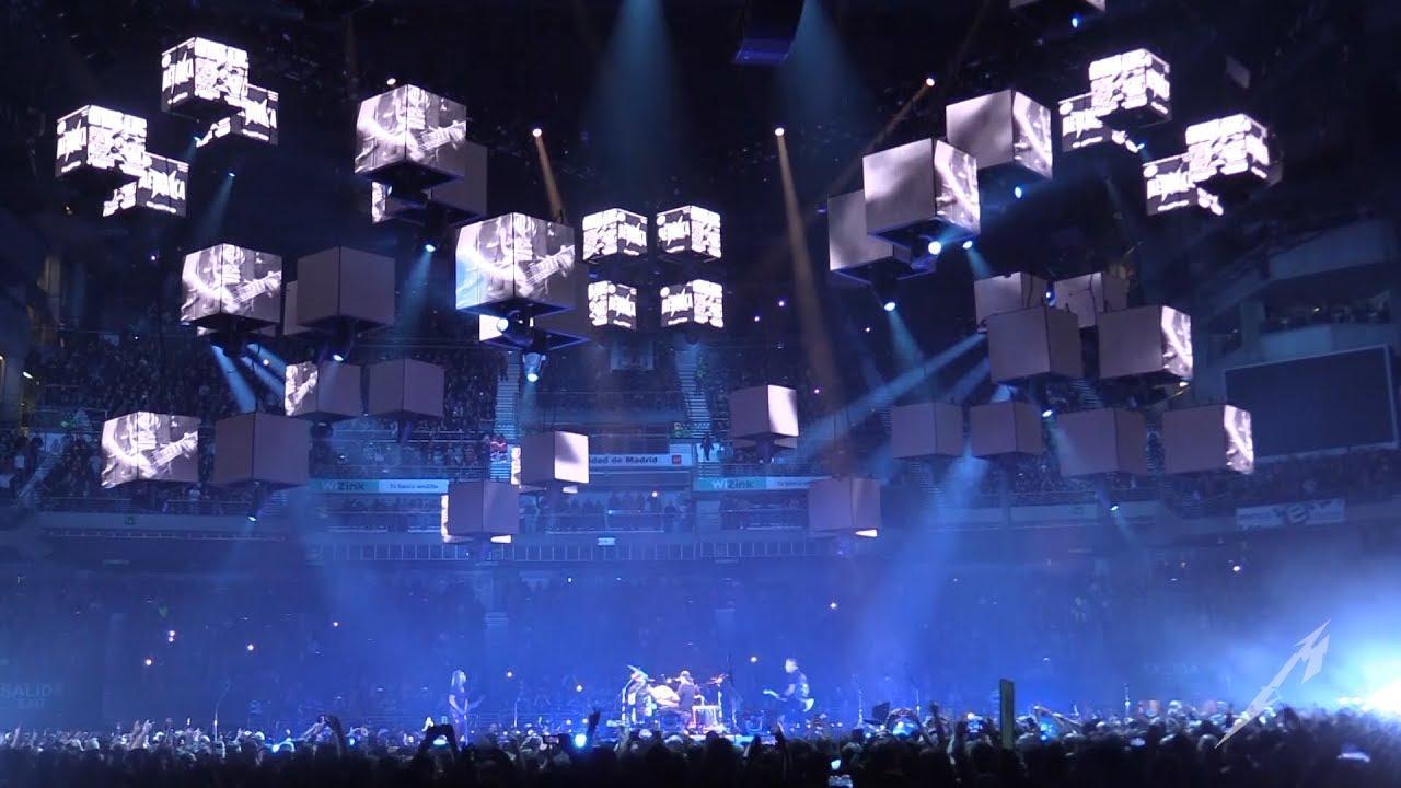 Metallica Seek & Destroy (metontour  Madrid, Spain