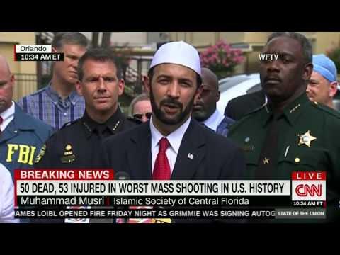 Islamic Leader Implies Gun Control Needed After Orlando Shooting