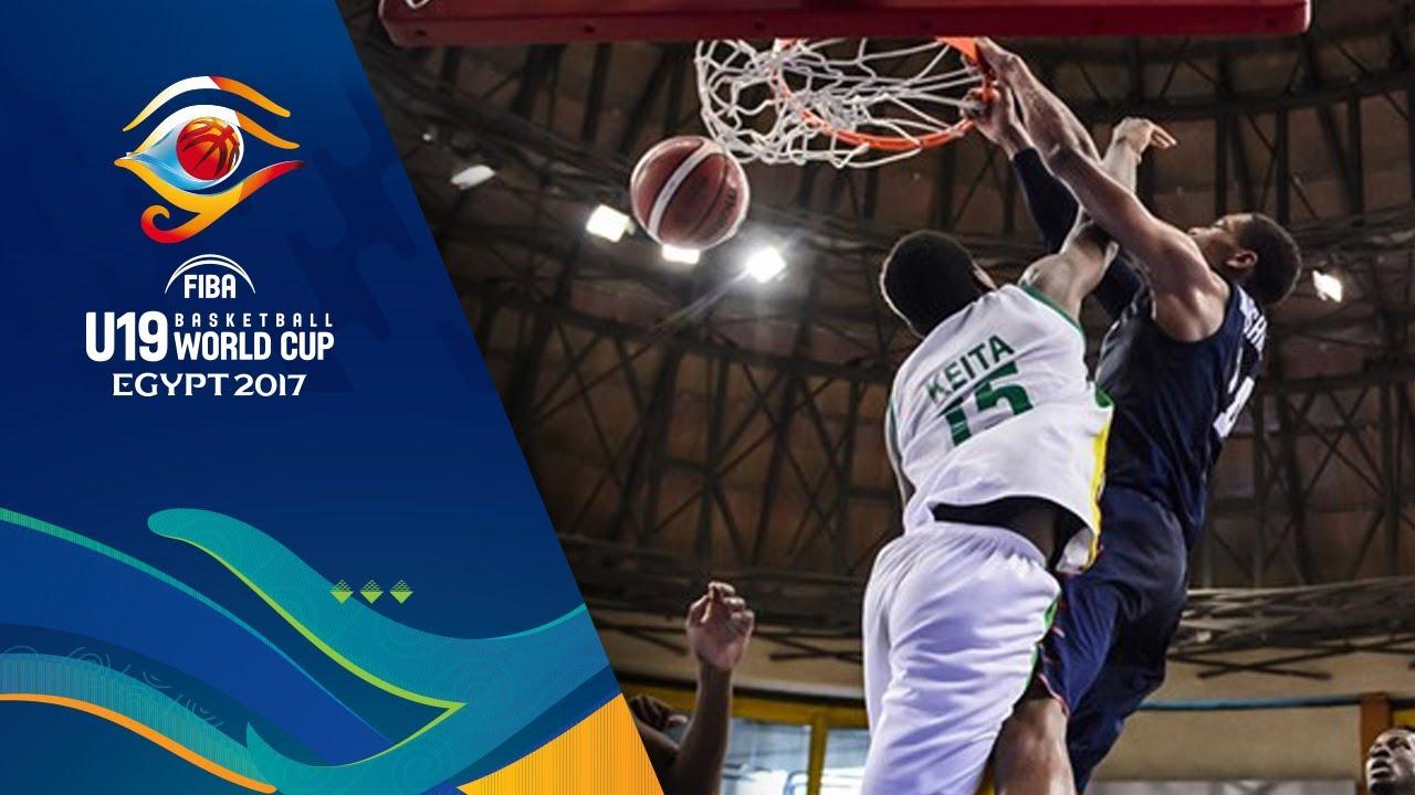 Top 5   Round of  16 - FIBA U19 Basketball World Cup 2017
