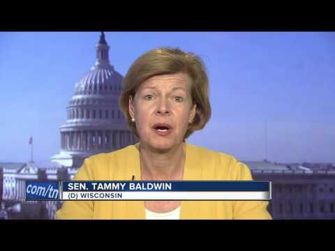 Sen. Tammy Baldwin says she
