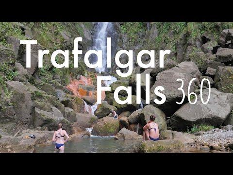 Trafalgar Falls, Dominica (360 Video)