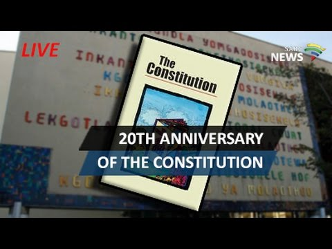 SA commemorates 20th Anniversary of the Constitution, 10 December 2016