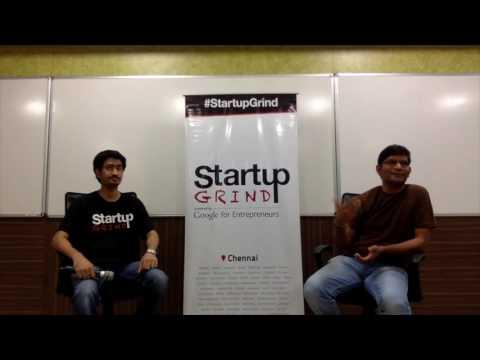 Startup Grind Chennai Hosts Kumar Vembu of Zoho