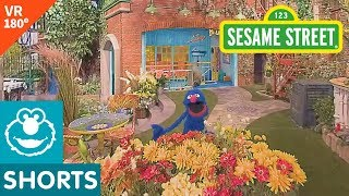 Sesame Street: Grover Shows Near and Far in VR 180 Video!