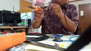 membuat antena j-pole / j pole uhf untuk handi talki uhf spc sh10