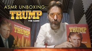 Sedition & Sedation: ASMR Unboxing of TRUMP the Game [ASMR] [Political]
