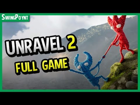 Unravel 2 Gameplay - FULL GAME UNRAVEL TWO - JUST Announced at EA E3 2018 (Multiplayer)