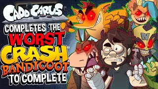 The Miserable World of Completing Crash Bandicoot 4 - Caddicarus