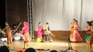 "Alisha performing ""Shri Radhe Rani De Daro Bansuri Mori"""