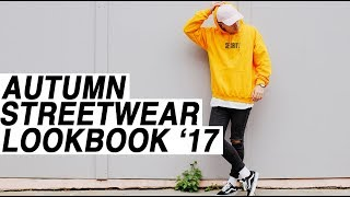 2017 Autumn Streetwear Lookbook // 3 Outfits Haul