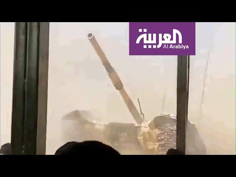 تفاعلكم | دبابة عسكرية تضل طريقها للجمهور في عرض عسكري!  - نشر قبل 2 ساعة