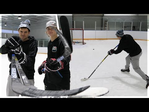 HOCKEY S-A-U-C-E WITH NHL PRO STOCK STICKS