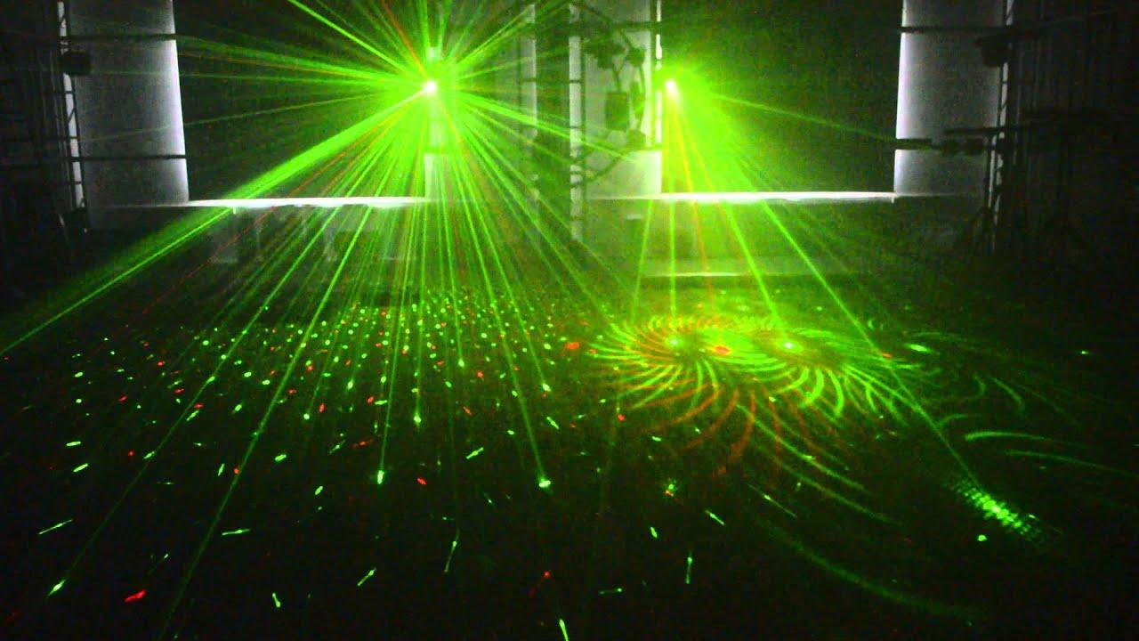 Ms Ml06 Laser Led Strobe Multiple Effect Light Disco
