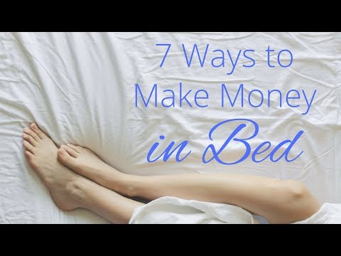 7 Businesses You Can Start IN BED // Easy Ways to Make Money at Home // Gillian Perkins