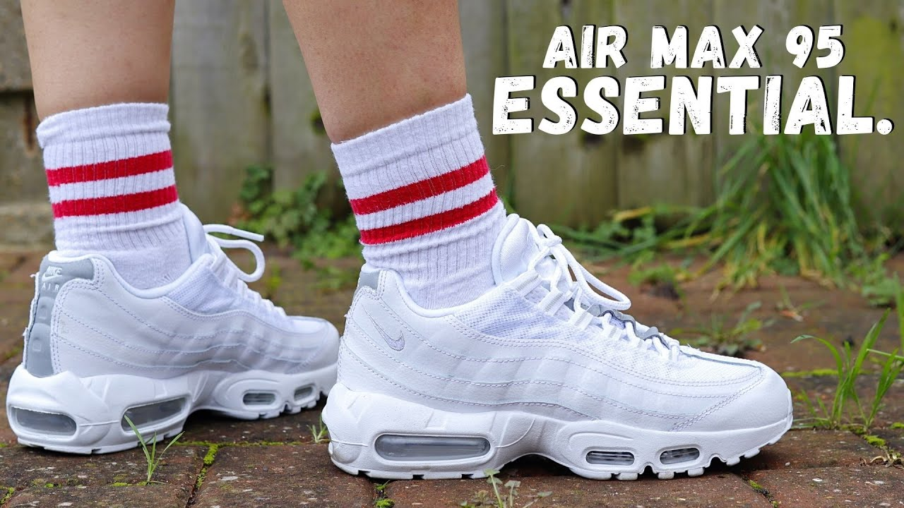 SUMMER ESSENTIAL? Nike AIR MAX 95 Essential White Pure Platinum On Foot Review