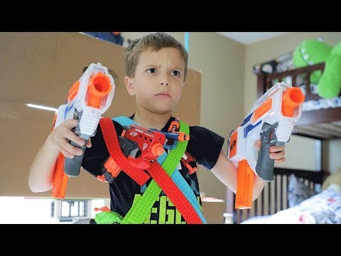 [Nerf Battle] Mayka Tape Challenge (Liam Lost and This Happened)
